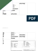MDP / L+F Curriculum 2013-14