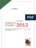Recetario Mañoso, Octubre 2012