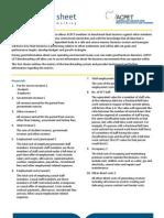 ACPET Benchmarks List