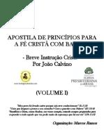 Apostila Breve Instrução Cristã - João Calvino