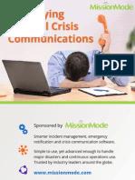 Simplifying Internal Crisis Communications