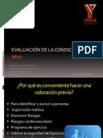 Evaluación de la Condición física 2011
