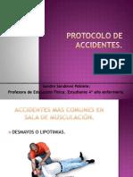 Protocolo de Accidentes