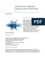 Fire-Wise and Water-Wise California Drought Strategies for the Central Basin Homeowner