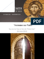 Increase Our Faith!2012