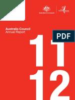 Australia Council Annual Report 2011–12