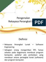 1. Pengenalan RPL