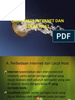Cara Akses Internet Dan Local Host