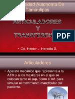 Articuladores y Transferencias