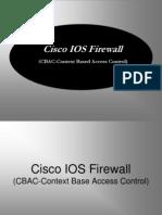 Cisco Firewall CBAC