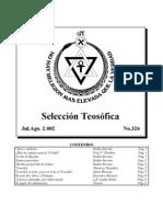 Selección Teosófica - Jul 2002