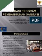 Integrasi Program Pembangunan Sanitasi