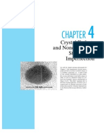 Ch04 - Crystal Defect and Noncrystalline Structure - Imperfection