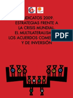 Libro Sindicatos y Crisis 2009