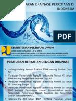KEBIJAKAN DRAINASE PERKOTAAN DI INDONESIA