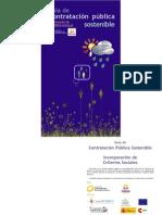 Contratacion Publica Sostenible Incorporacion de Criterios Sociales