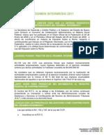 Regimen Intermedio 2011