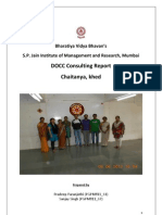 DOCC Chaitanya Consulting Report V0.5