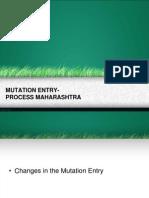Mutation Process Maha