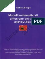 Barbara Borgia Modelli Matematici Di Diffusione Del Virus Dell' HIV AIDS 2011