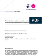 Health Academix Executive Summary 20121