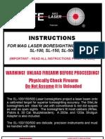 SITELITE Instructions