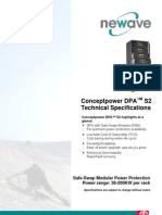 Technical Specification ConceptPower DPA 10-250kVA-S2 English
