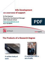 Skills Development Overview