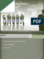 Infinity Informatics - Corporate Profile - Ver 1.1