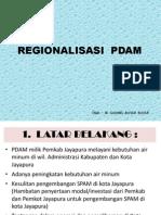 Regionalisasi PDAM Jayapura
