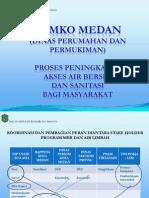 PROSES PENINGKATAN AKSES AIR BERSIH DAN SANITASI Bagi masyarakat di Kota Medan
