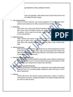 f&b Notes - Basics