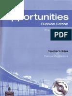 New Opportunities Pre Intermediate Teachers Book Teachers Book