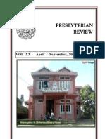 Presbyterian Review - April_September, 2012