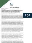 'Economie is Nu Ook Psychologie' - Archief - TROUW