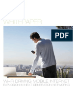 Wi-Fi Driving Mobile Internet Explosion in Next Generation Networks