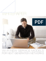 Wi-Fi New Service Models for Next Generation Networks