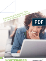 SWP1011 Self Service Customer Care for Next Generation Networks