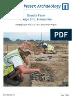 Dowds Farm - Assessment Report