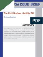 IB CivilNuclear LiabilityBill 2010