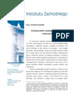 Kondycja polskich i polskojęzycznych organizacji  w Niemczech