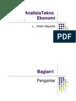 [Dep Perind Presentasi] AnalisisTekno Ekonomi