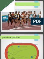 Presentacion de Atletismo