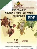 Nourrir Le Monde, Parole Aux Citoyens_Novembre 2012 (Long)