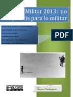 Presupuestos Defensa 2013
