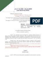 LEI  14260 - IPVA