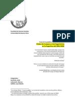 Clubes de trueque y crisis hegemónica en la Argentina del 2001-2002