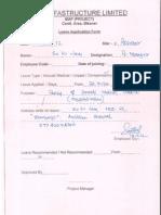 Leave Application of S.K.jain
