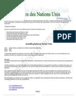 Système des Nations Unis S3