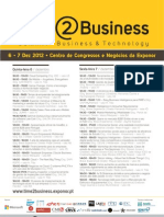 "Cimeira ""Time2Business - Business & Technology"" na EXPONOR, Portugal"